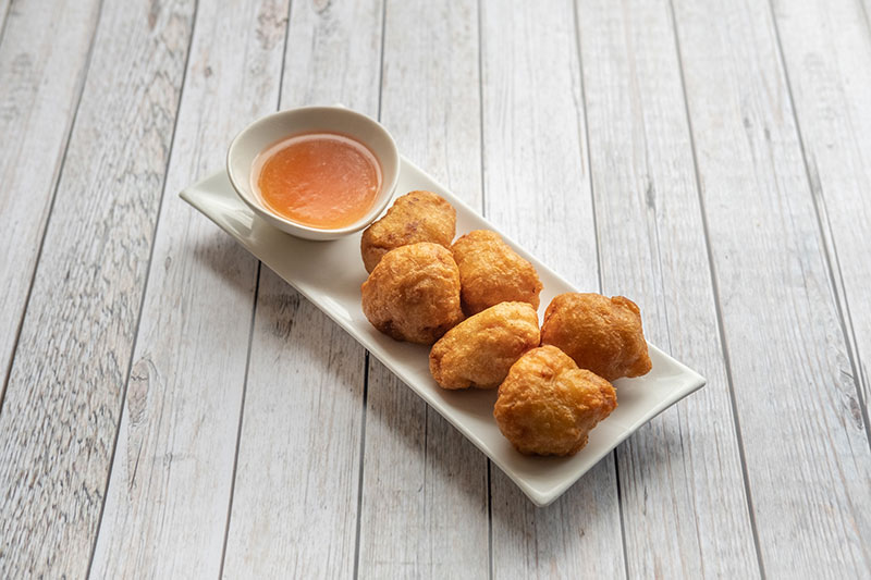 Chicken balls with sweet and sour sauce from Kew Gardens Oriental Cuisine
