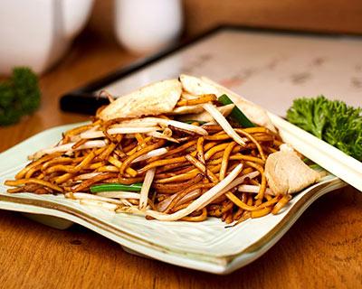 Chicken chow mein from kew Gardens Oriental Cuisine