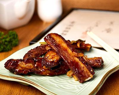 Peking spare ribs at Kew Gardens Oriental Cuisine